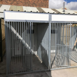 Double Insulated Dog Kennels